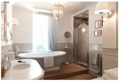 Примеры интерьеров ванных комнат