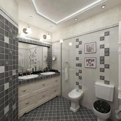 Как оформить туалет в квартире