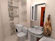 Примеры ремонта ванных комнат фото 9