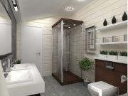 Примеры ремонта ванных комнат фото 17