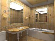 Примеры ремонта ванных комнат фото 11