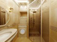 Дизайн маленькой ванной комнаты фото 12