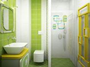 Дизайн маленькой ванной комнаты фото 3