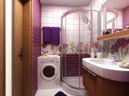 Дизайн маленькой ванной комнаты фото 13