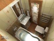 Дизайн ванной комнаты в квартире фото 2