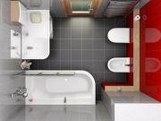 Дизайн ванной комнаты в квартире фото 13