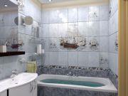 как оформить маленькую ванную комнату фото 11