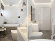 как оформить маленькую ванную комнату фото 13
