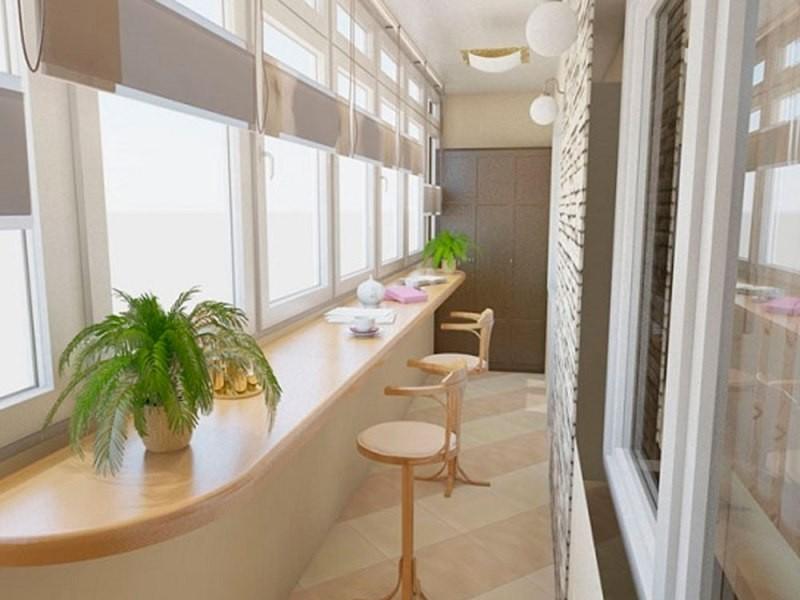 Дизайн балкона в квартире с фото примерами.