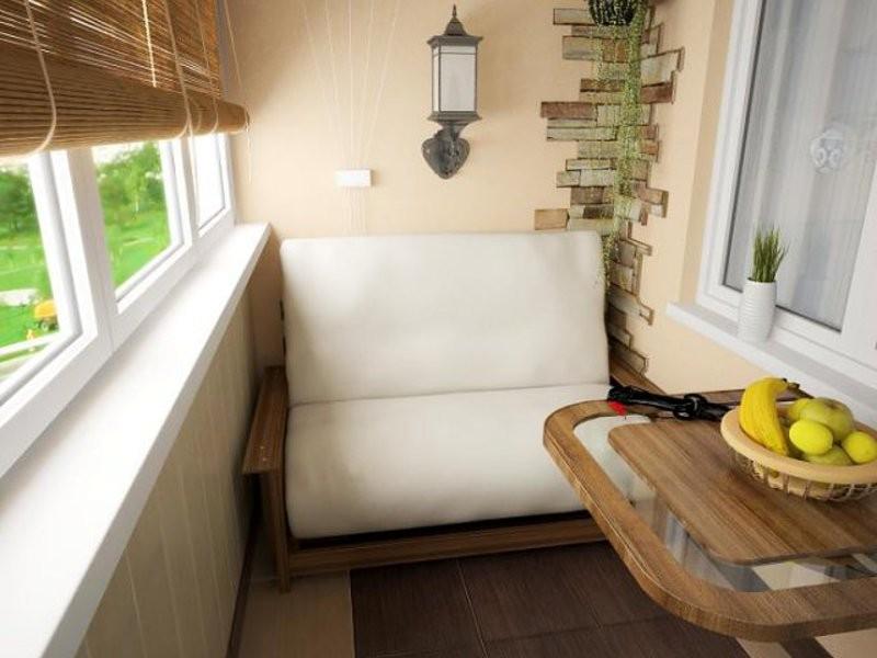 фото дизайна балкона в квартире