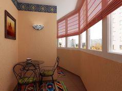 Интерьер балкона в квартире