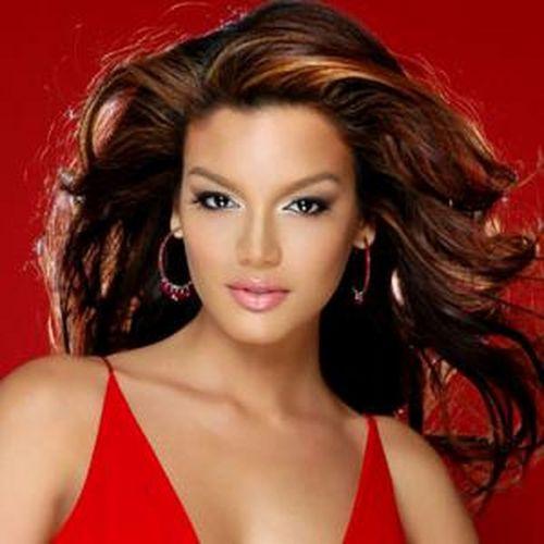 вечерний макияж под красное платье