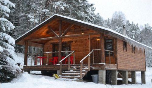 В Карелии уютные домики