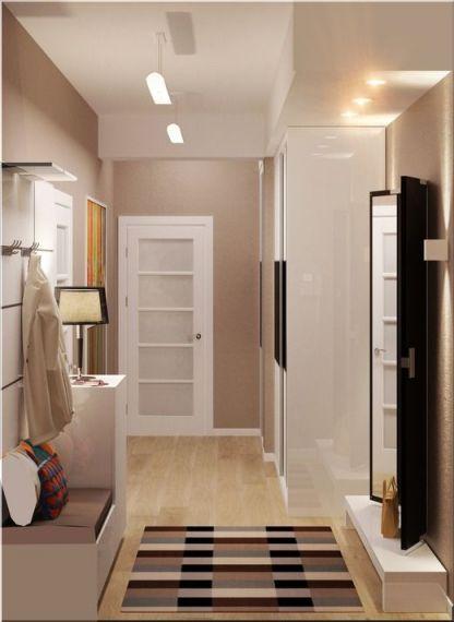 Функциональная прихожая в 1 комнатной квартире
