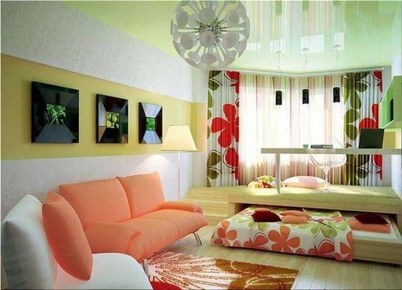 фото идеи интерьера для однокомнатной квартиры