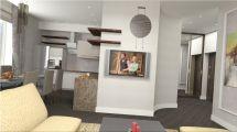 Интерьер 1 комнатной квартиры фото №3