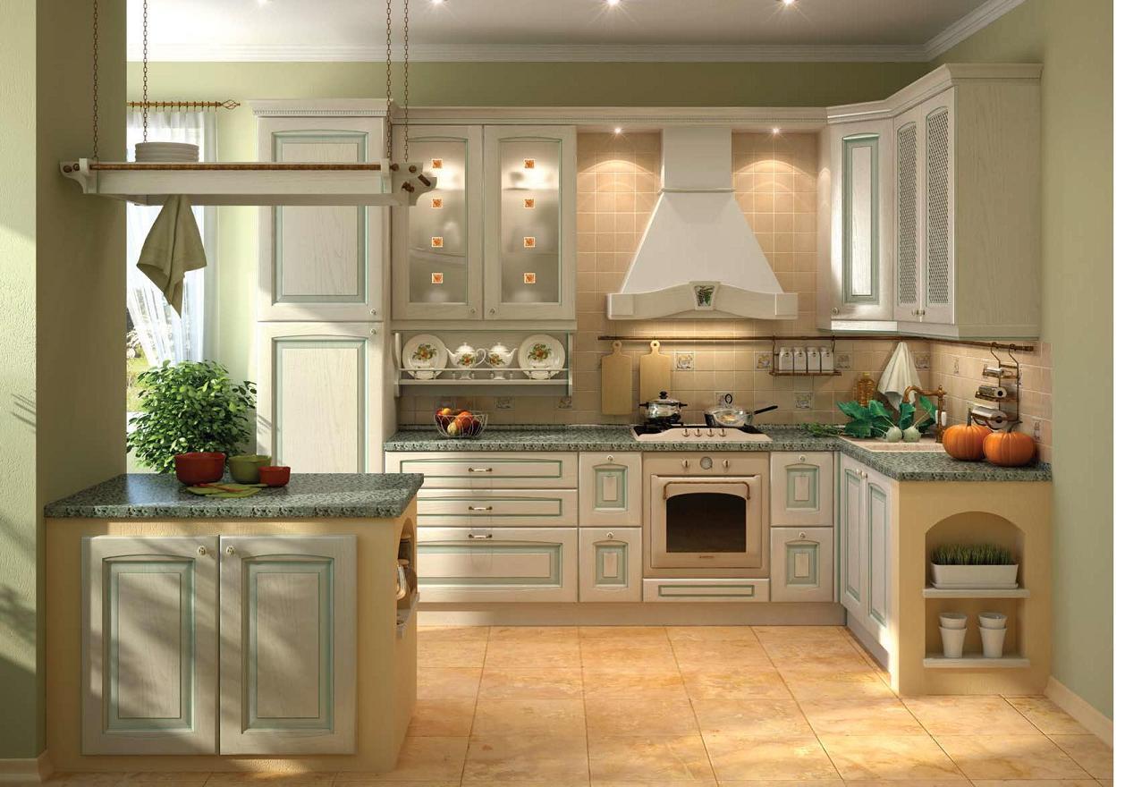 Кухни под дерево: фото дизайна в интерьере и стили