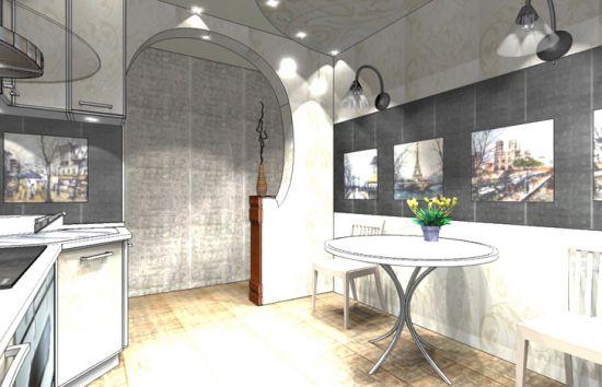 «Французский» интерьер вашей кухни