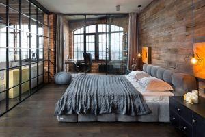 """Спальня в стиле """"лофт"""""""