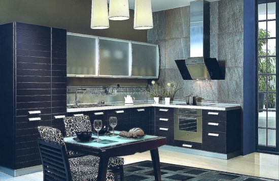 кухня в стиле модерн мебель