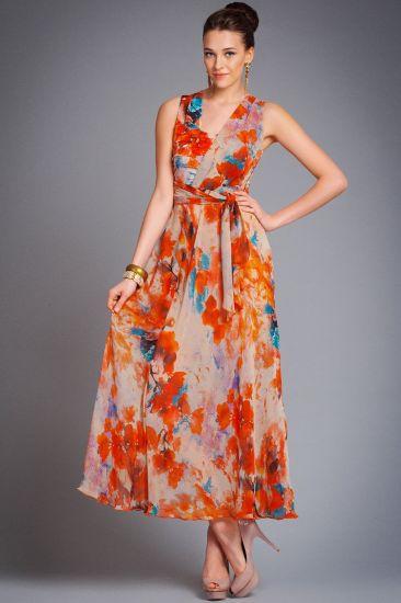 летнее шелковое платье для клуба