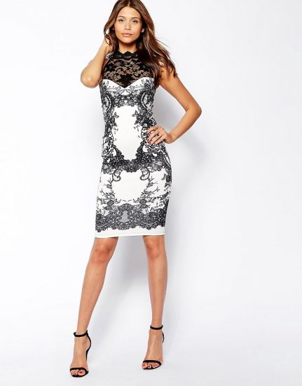 Облегающее платье для клуба