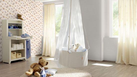 детская комната синтетические обои