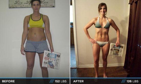 красивое тело похудела диеты