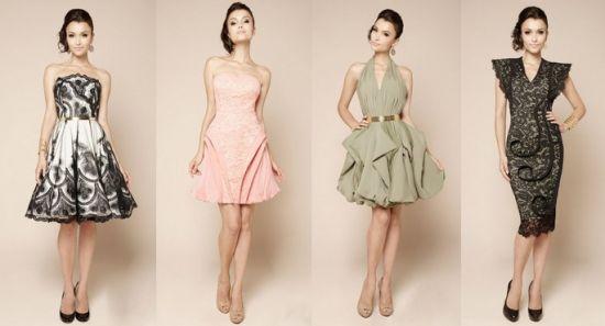 женственное платье для выпускного от модельера