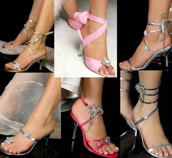 красивая обувь на выпускной