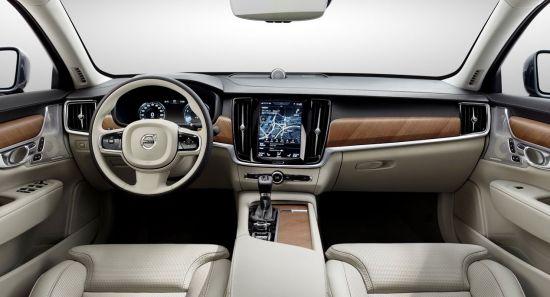 Volvo S90 рельефные сиденья
