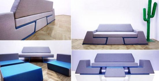 интерьер мебель трансформер