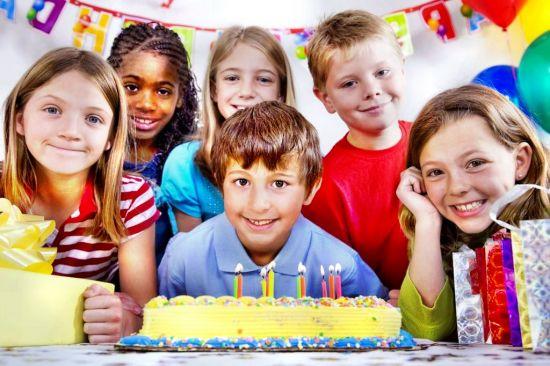 День рождения для ребенка 7-9 лет