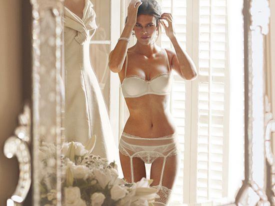 Сексуальное свадебное белье