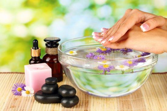 ванночка для ногтей в домашних условиях