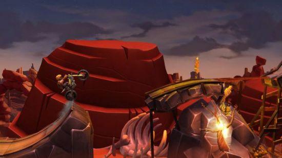 Обзор игры Trials Frontier