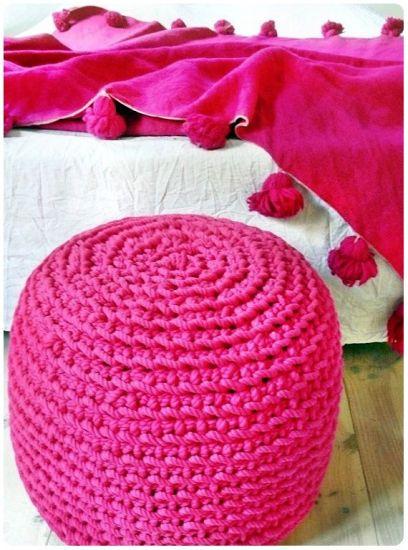 аксессуары для интерьера в цвете фуксия