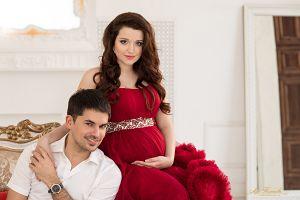 фотоссесия беременных с мужем