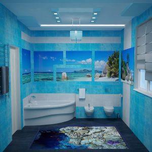 3d полы в ванной комнате фото примеры