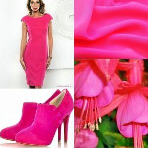 цвет фуксия в одежде