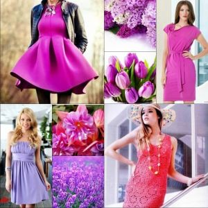Платья цвета фуксия