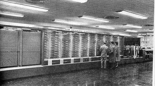 самый первый компьютер в мире фото