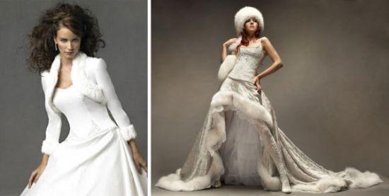 Свадьба в холодное время года