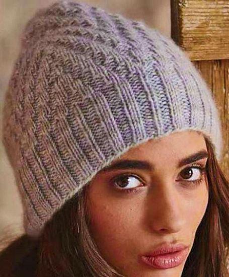 вязание спицами шапки для женщин схемы