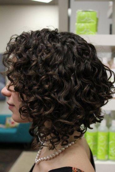 Завивка на короткие волосы фото