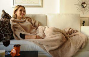 Флисовый плед: комфорт и уют в доме