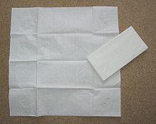 Бумажный платочек