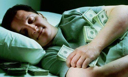 Сонник крупные деньги бумажные