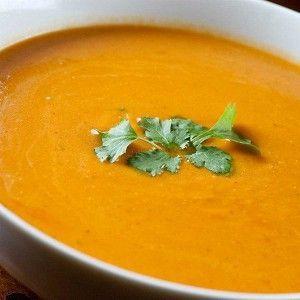 Рецепт пряного супа-пюре из нута