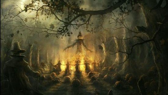 Хэллоуин у кельтов